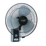 """Smart Fans """"Executive"""" model 18″ Wall Bracket Fan Plastic base Metal blade-Black&Grey"""