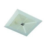 "Smart Fans ""Top"" model 10″ False ceiling Exhaust Fan Plastic-Off White"