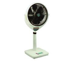 Smart Fans Louver TCP Fan 14″ Remote Control Plastic-Off White-Dark Brown